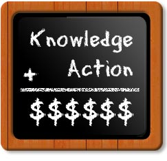 knowledge_plus_action_equals_money